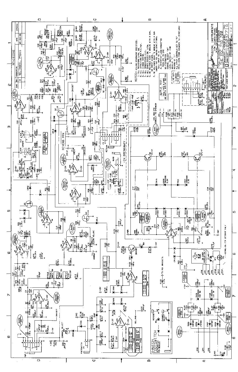 fender super twin reverb schematic pdf fender tremolux 5e9 schematic