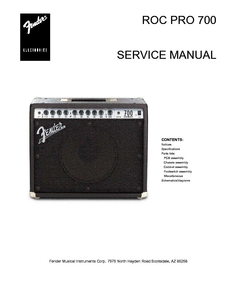 fender rumble 40 manual pdf