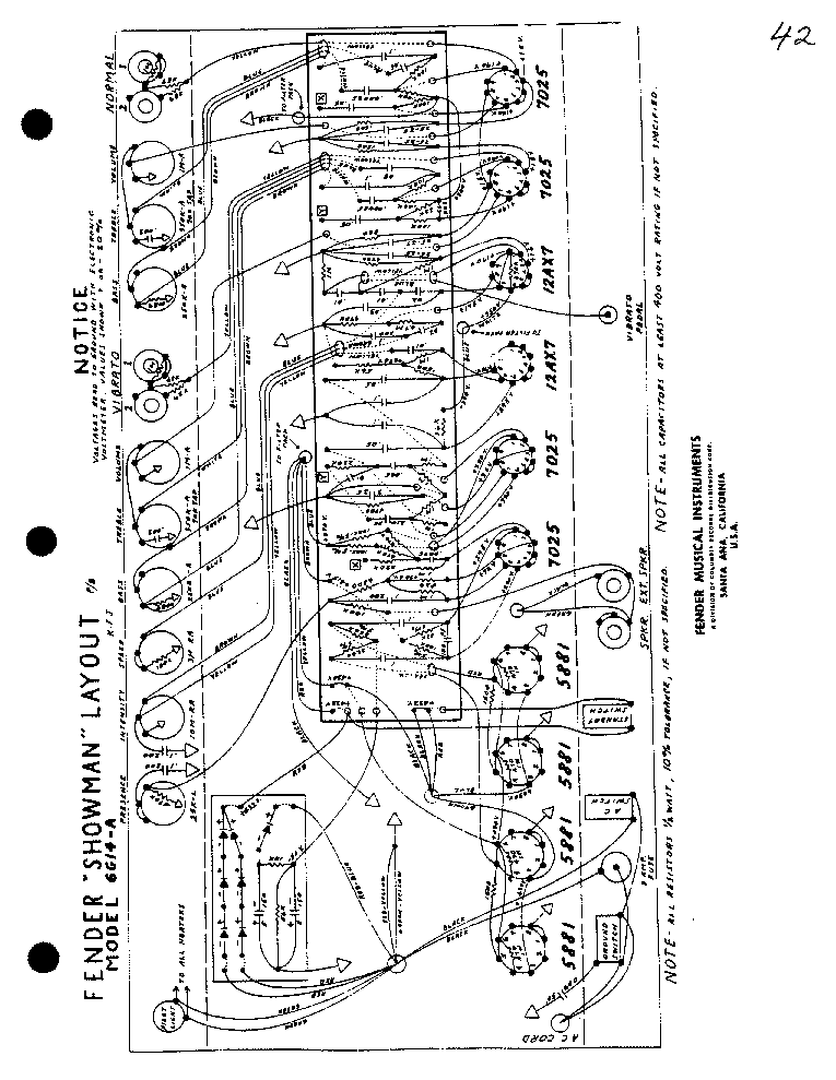 fender speaker crossover sch service manual free download