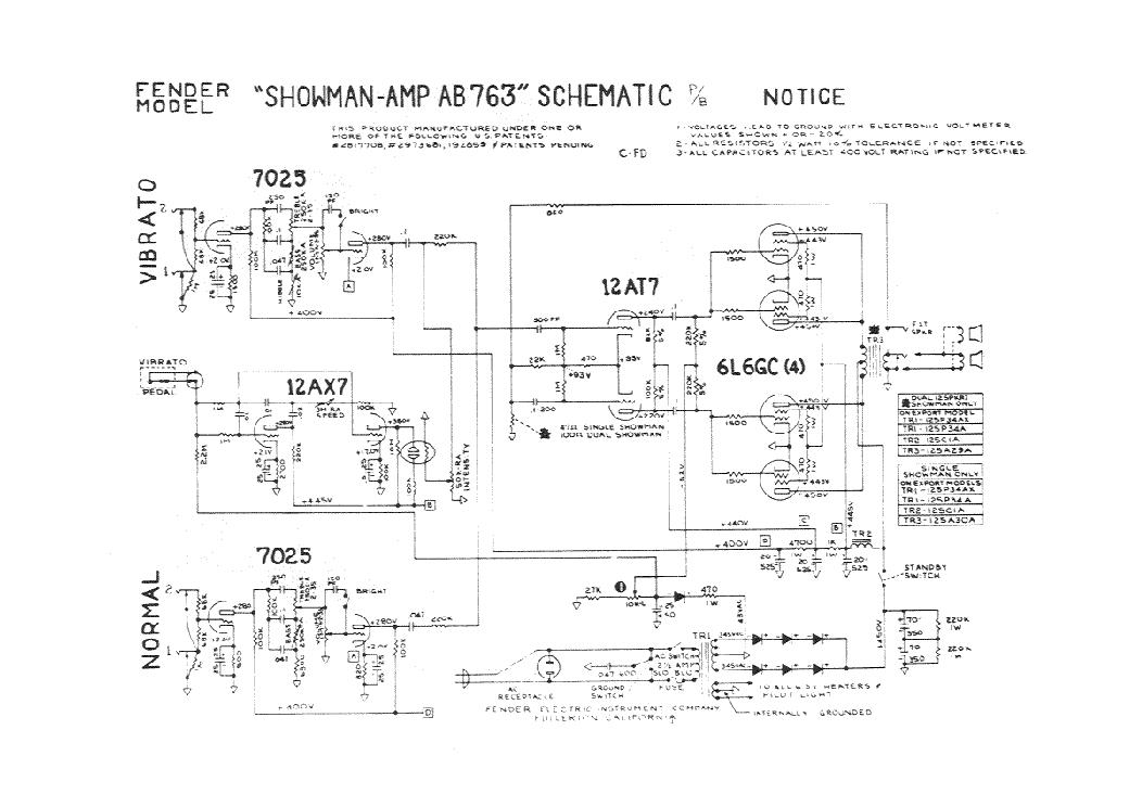 fender rumble 25 schematic rev a service manual download schematics rh elektrotanya com Fender Dual Showman Red Knob Fender Dual Showman Amp