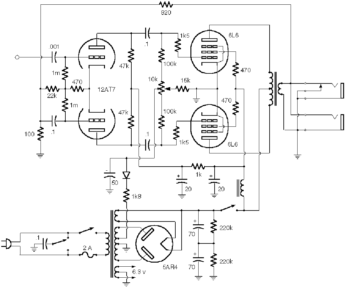 fender deluxereverb a1270 schem service manual free