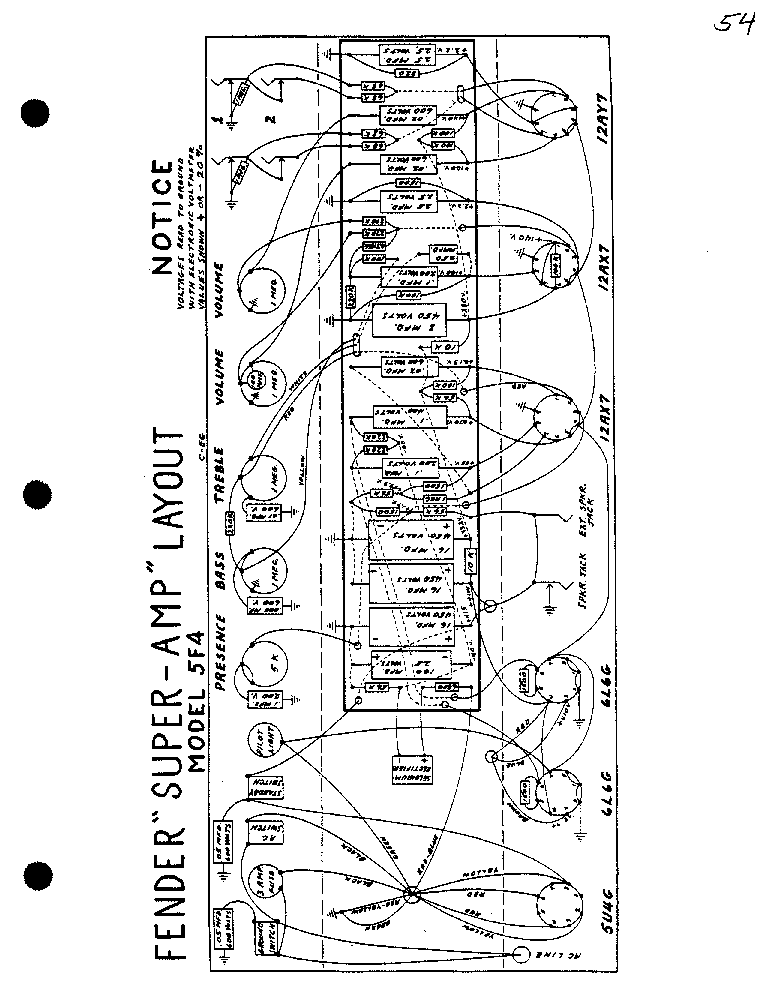 1960 fender champ schematic