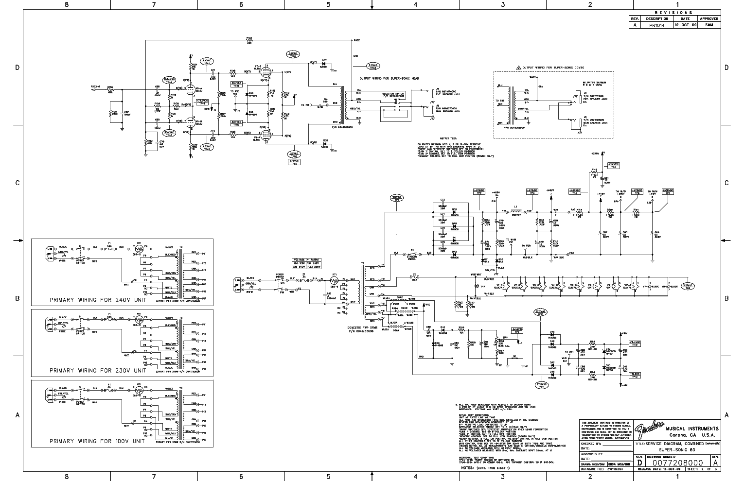 FENDER SUPER-SONIC 60 COMBO SCHEMATIC REV-A Service Manual ... on yamaha schematics, computer schematics, john deere schematics, new holland schematics, shimano reel schematics, wiper motor schematics, mercruiser outdrive schematics, heathkit schematics, tech 21 schematics, fishing reel schematics, daiwa reel schematics, vox amp schematics, spinning reel schematics, evinrude schematics, engine schematics, gretsch schematics, akai schematics, valco schematics, line 6 schematics, car schematics,