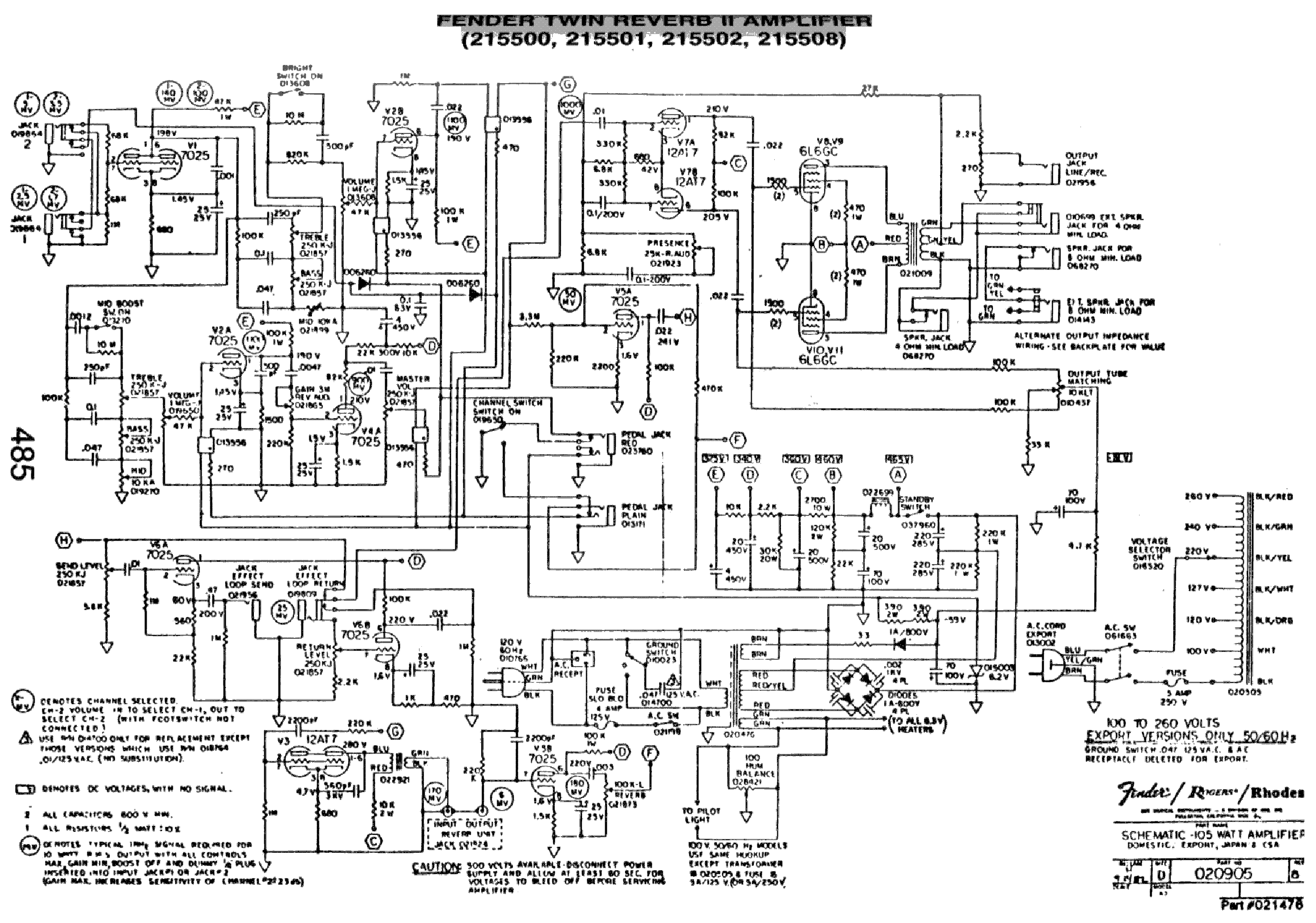FENDER TWIN REVERB II SCH Service Manual download, schematics ... on fender stage lead schematic, fender twin amp, fender quad reverb schematic, fender champ schematic parts list, fender twin silverface, fender super twin schematic, fender dual showman schematic, fender bandmaster reverb schematic, roland jc120 schematic, fender reverb tank schematic, fender the twin schematic, fender pro schematic, fender concert schematic, fender hot rod deville 410 schematic, fender bantam bass schematic, fender twin master volume schematic, fender blues jr. schematic, fender 5f1 schematic, fender champ reverb schematic, fender footswitch schematic,