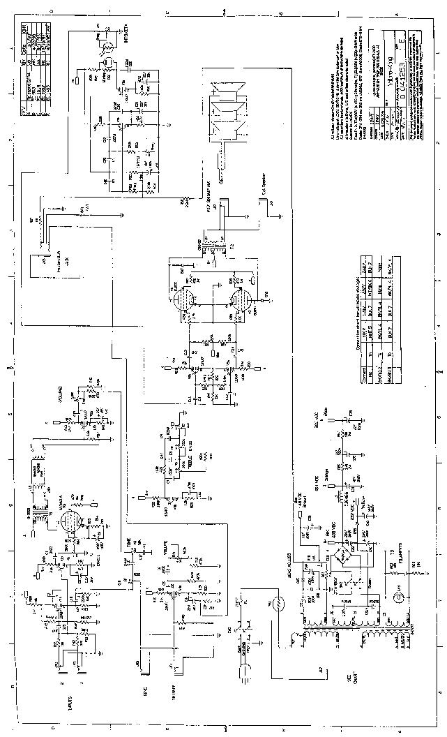 Fender Vibro King Wiring Diagram - Wiring Diagram Table on