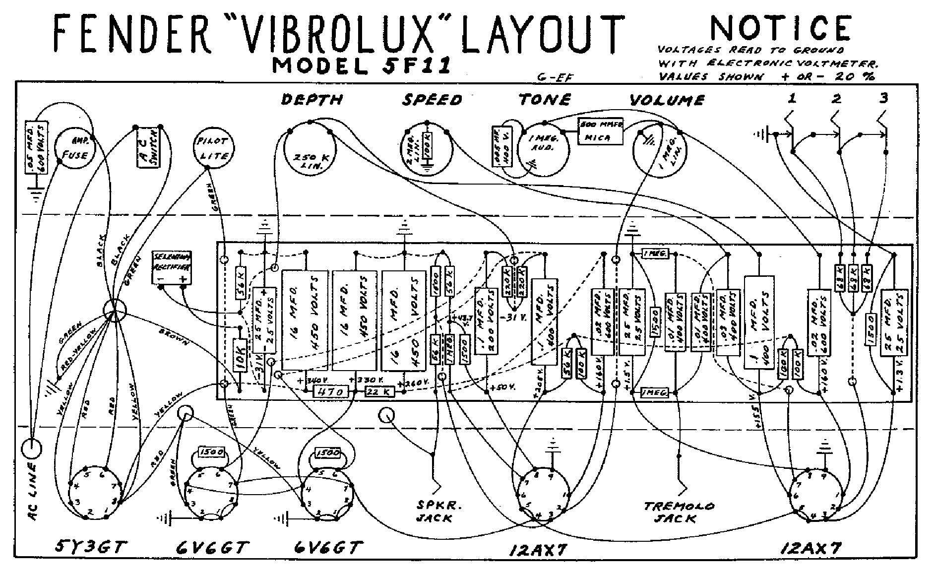 fender_vibrolux 5f11 layout.pdf_1 fender vibrolux 5f11 schematic freestompboxes org view topic add fender 5f11 wiring diagram at bakdesigns.co