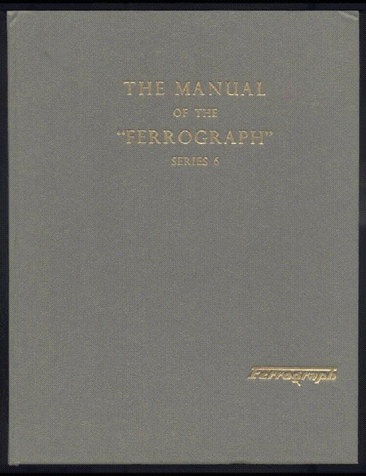 Ferrograph Series 6 631 Service Manual Download Schematics Eeprom