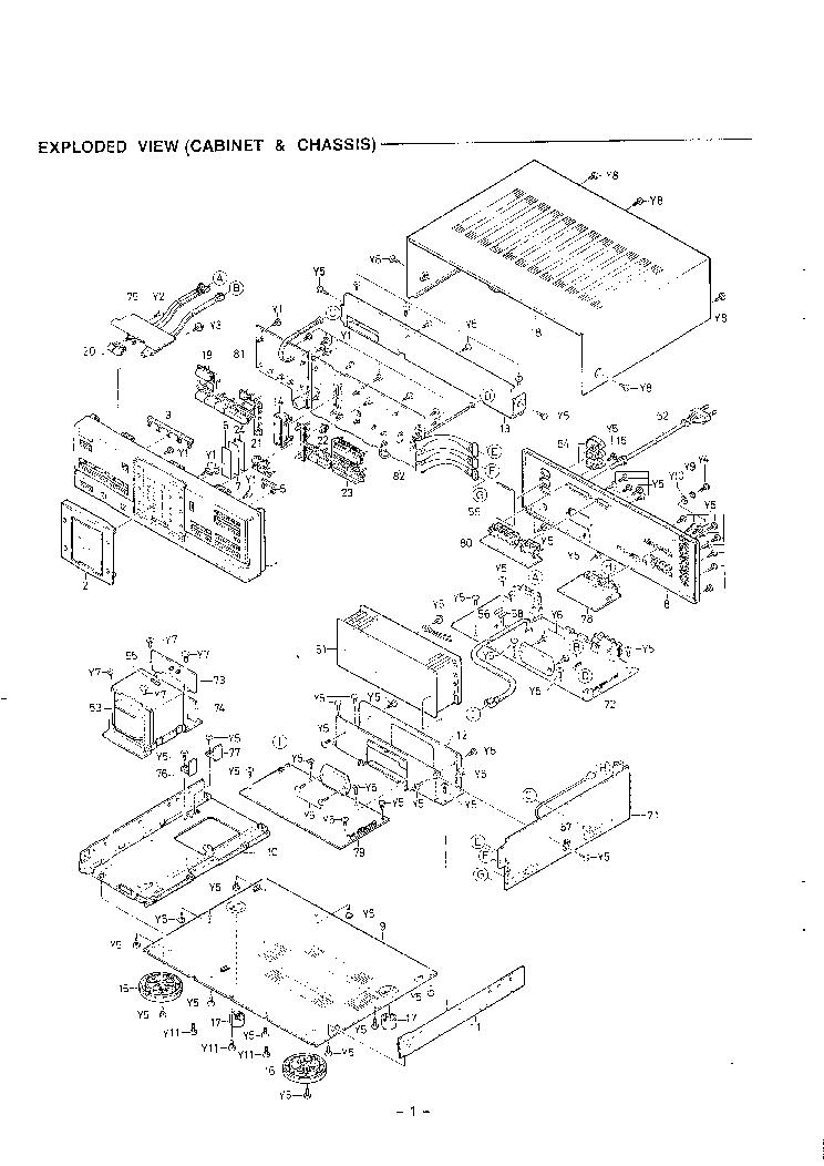 Fisher Ca 9335 Sm Service Manual Download Schematics Eeprom