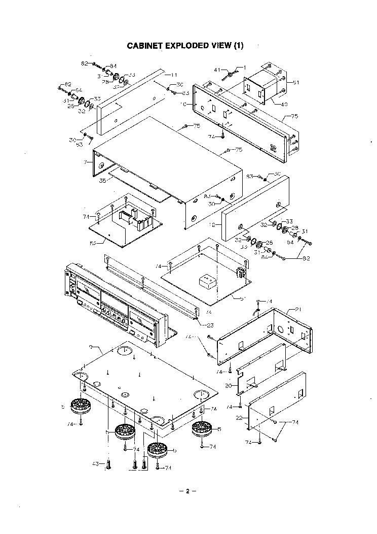 Fisher Cr Wz1 Sm Service Manual Download Schematics Eeprom Repair