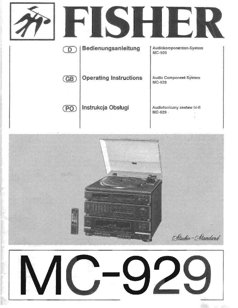 fisher mc 929 sch service manual schematics eeprom fisher mc 929 sch service manual 1st page