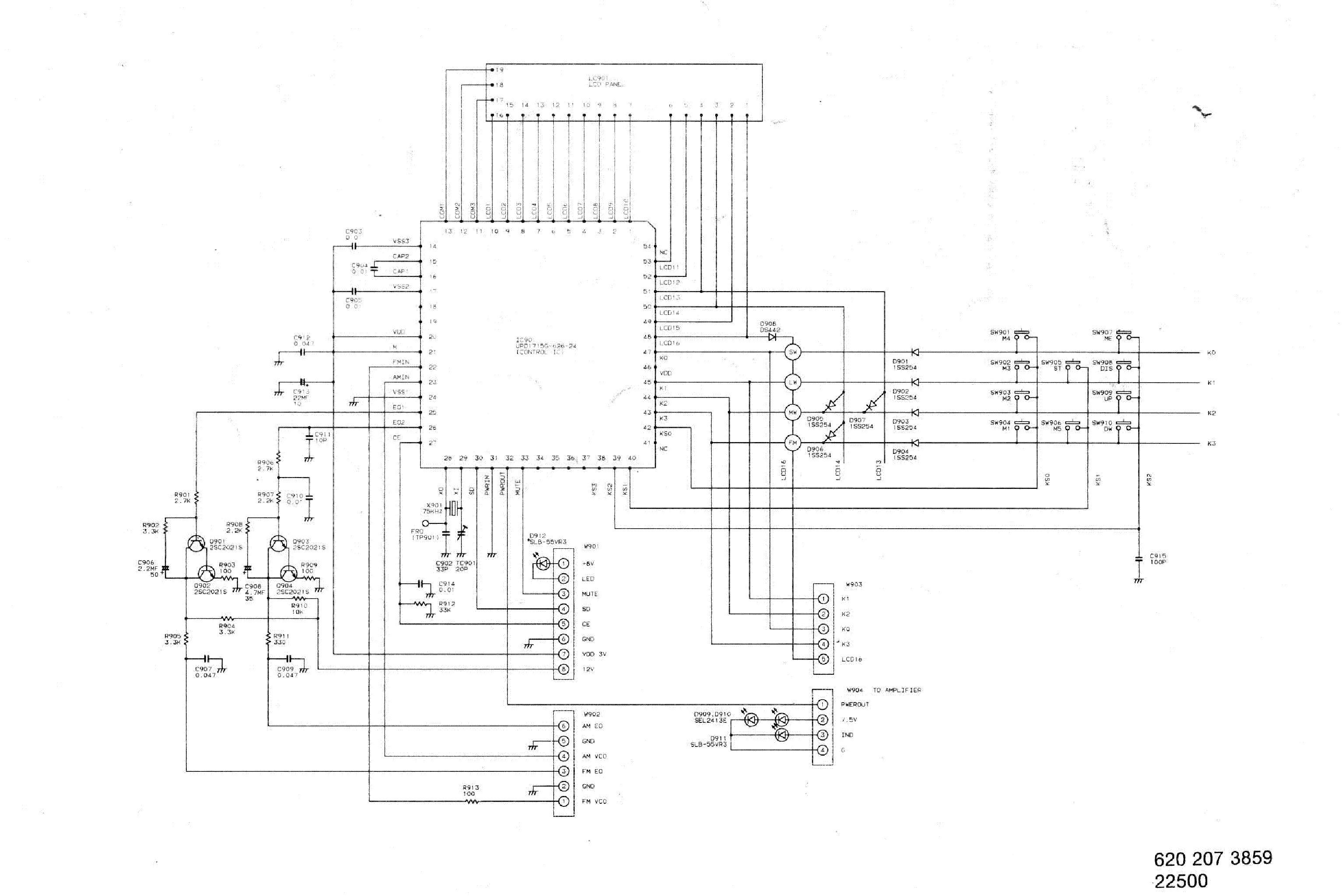 fisher stereo wiring diagram 270