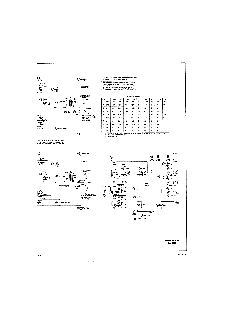 Fisher Sa300 Schematic Diagram Service Manual Download