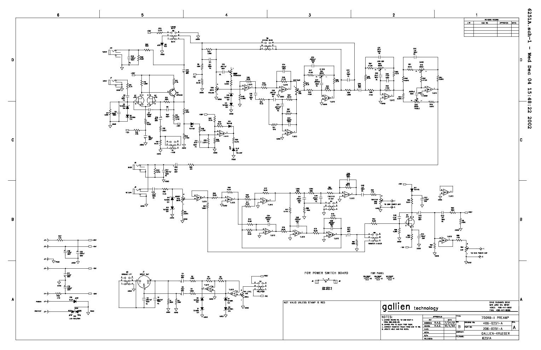 gallien krueger 700rb ii sch service manual download schematics eeprom repair info for. Black Bedroom Furniture Sets. Home Design Ideas
