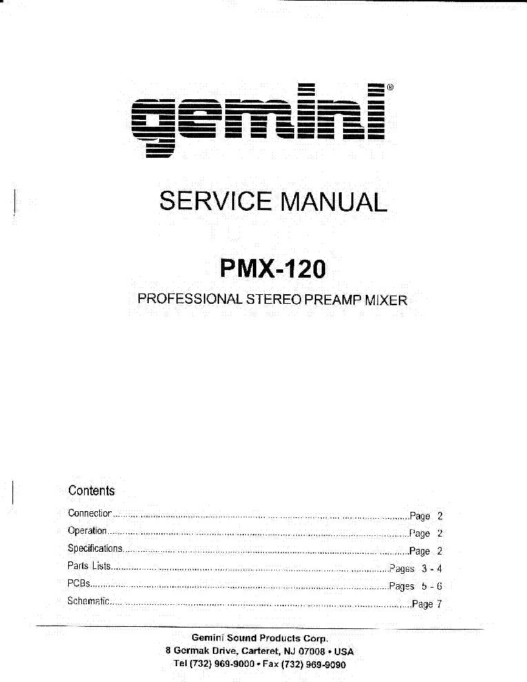 gemini p 600 800 service service manual download schematics eeprom rh elektrotanya com Craftsman Garage Door Opener Manual BMW Workshop Manual