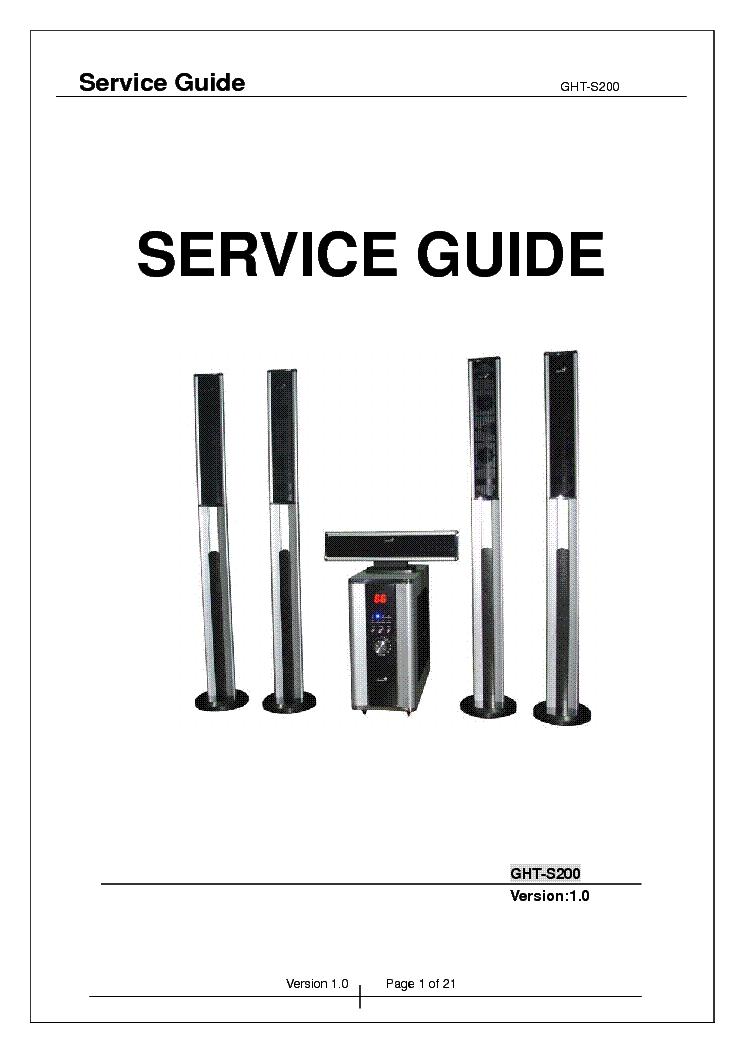genius service guide ght
