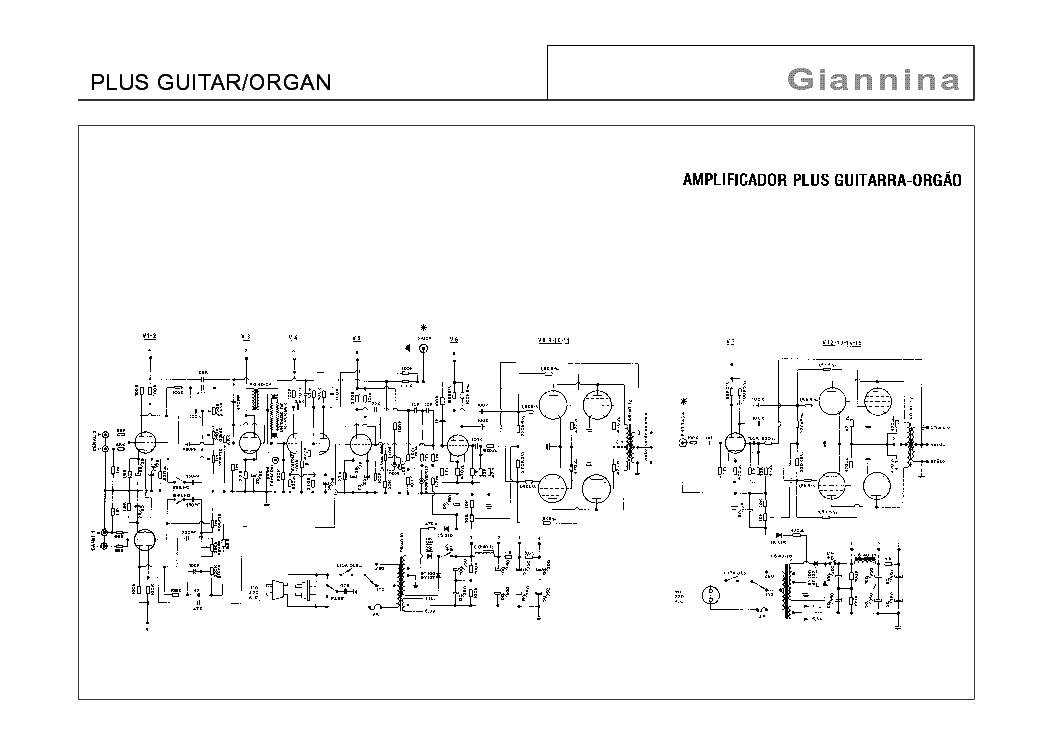 giannina plus guitar organ schematic service manual. Black Bedroom Furniture Sets. Home Design Ideas