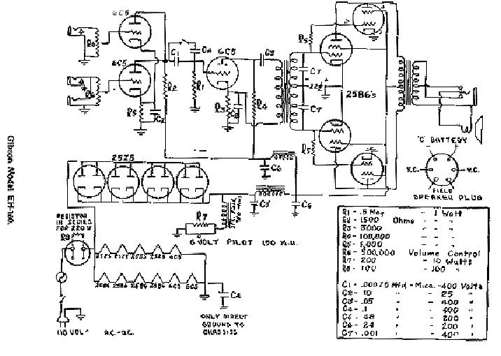 Gibson Eh160 Service Manual Download Schematics Eeprom Repair