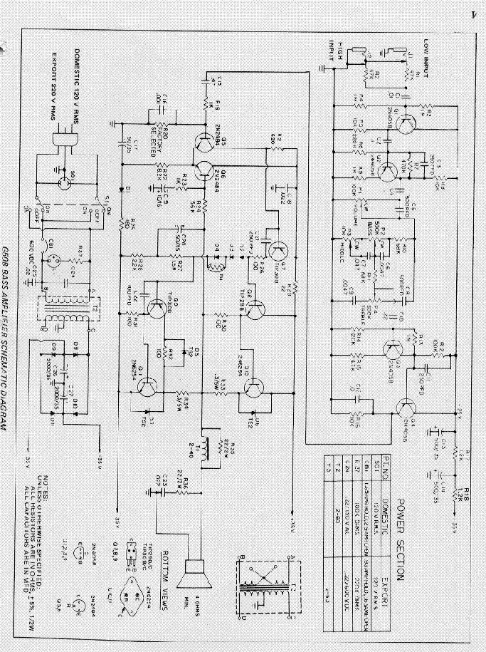 gibson eh 125 amplifier schematic service manual free