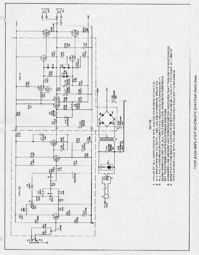 gibson ga 100 bass amplifier schematic service manual free