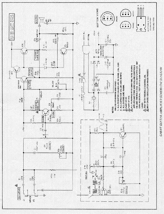 Gibson Eh 185 6j7 Pre Schematic Service Manual Download Schematics
