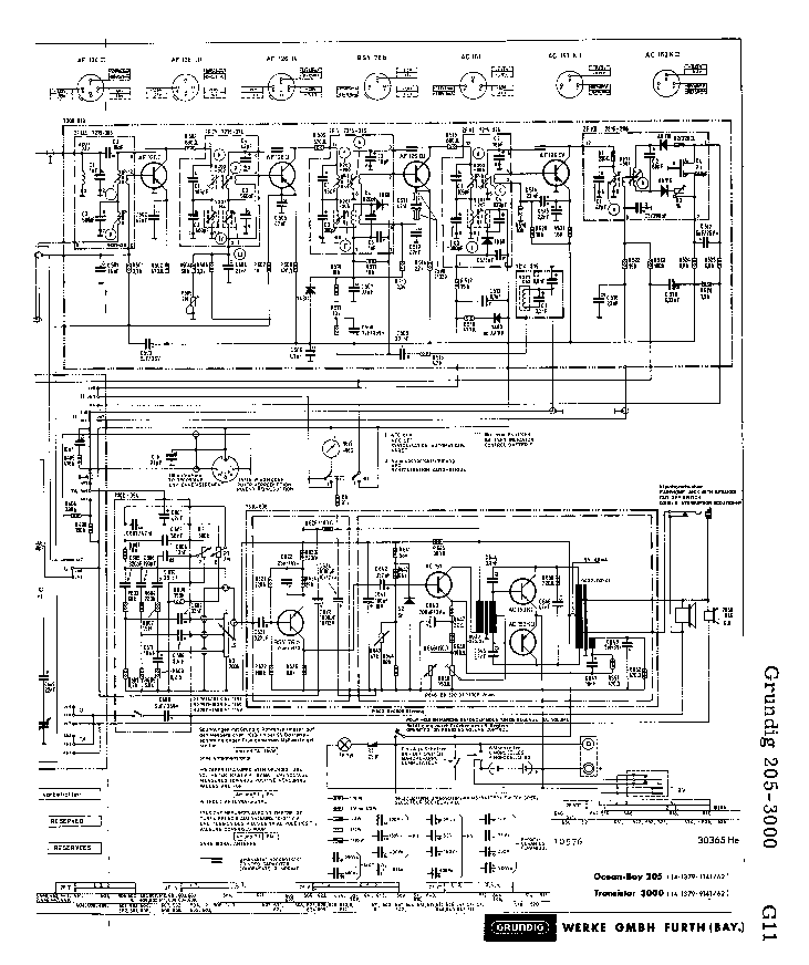 GRUNDIG    2053000 SCH Service    Manual    download     schematics