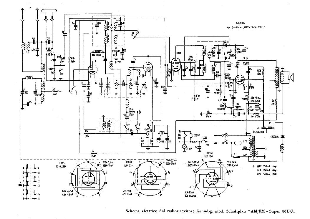 grundig radio schematics