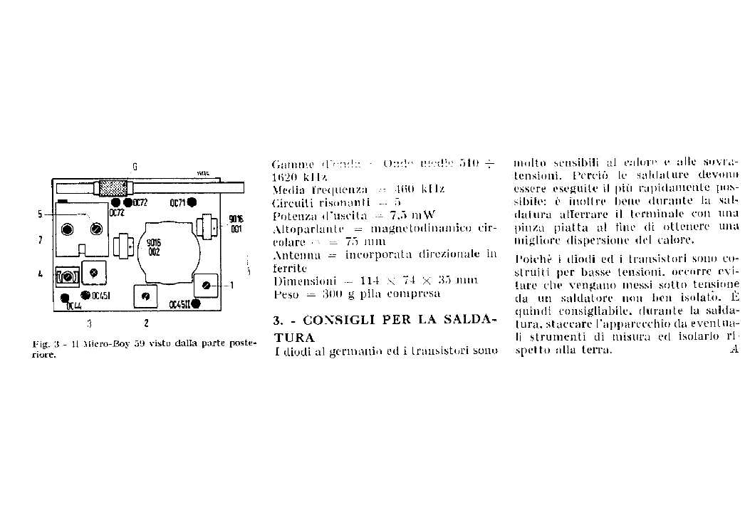 GRUNDIG MICRO BOY 59 SCH service manual (2nd page)
