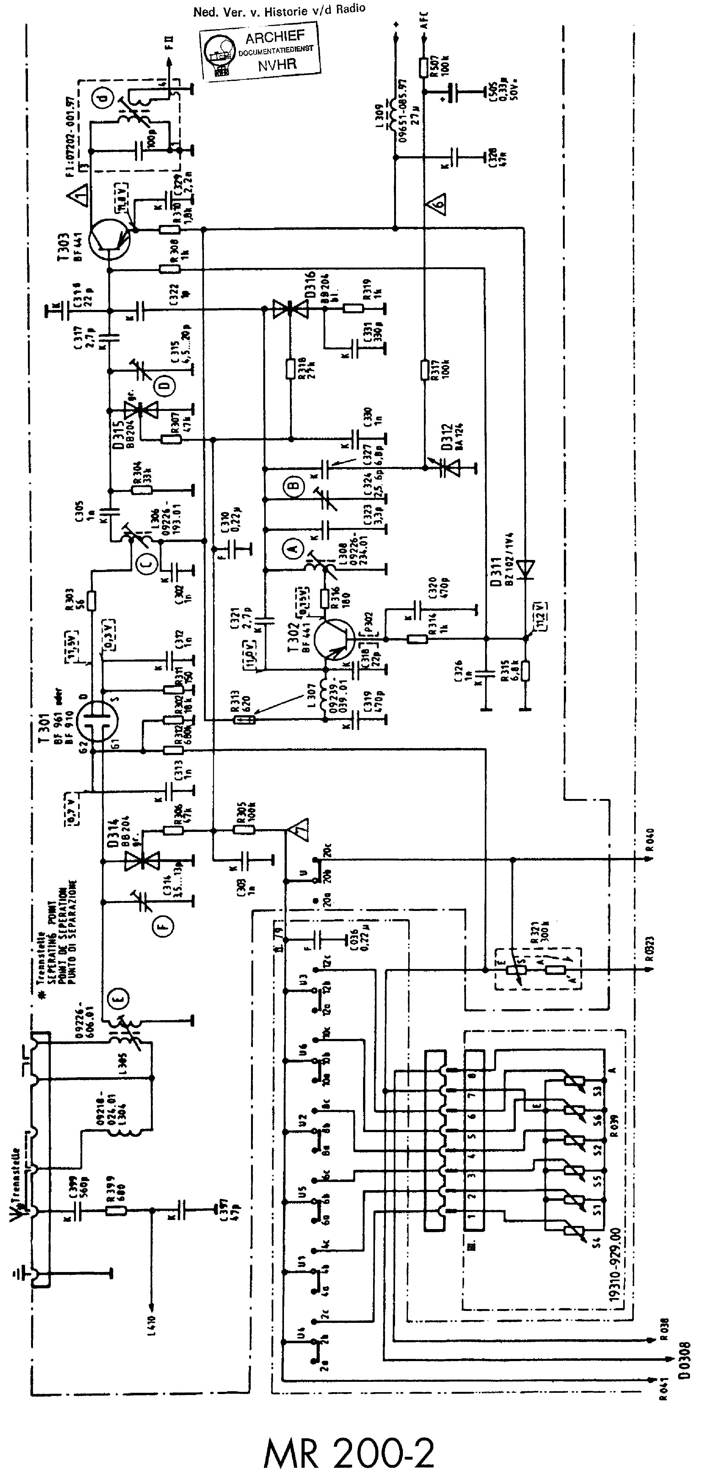 Grundig V4200 Service Manual Free Download Schematics