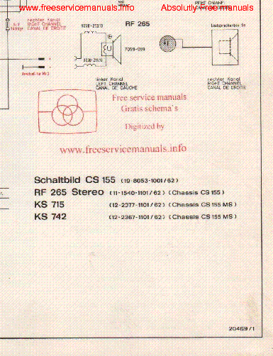 Grundig Rpc 450 service Manual