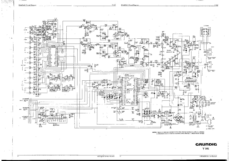 Grundig V101 Sch Service Manual Download  Schematics