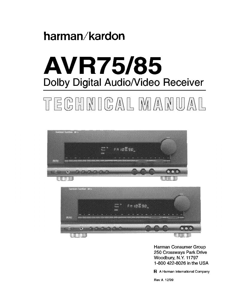 Harman Kardon Avr 154 Manual