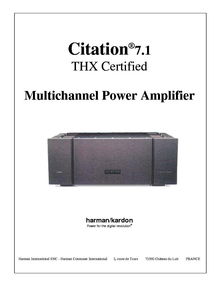 harman kardon citation 7 1 sm service manual download schematics rh elektrotanya com MLA Ciation Manual MLA Citation Manual