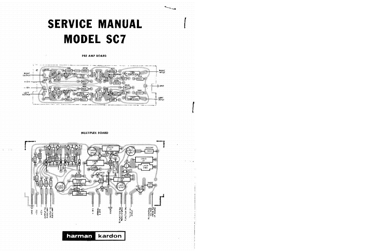 harmon kardon avr144 service manual repair guide