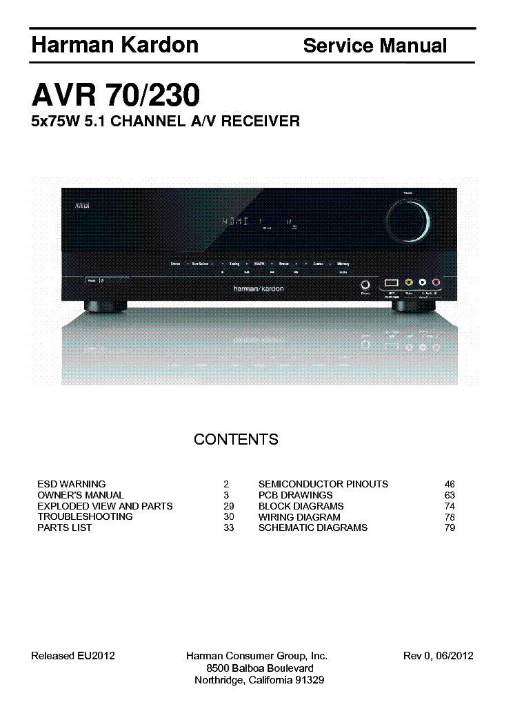 harman kardon hk 990 manual