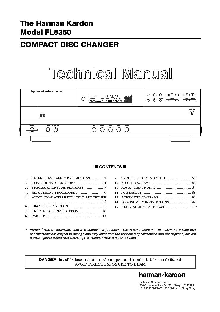 harman kardon gla-55 manual