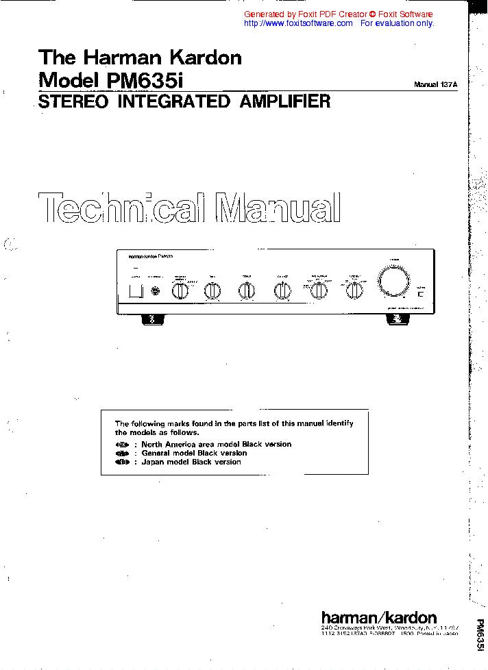harman kardon avr 135 manual pdf
