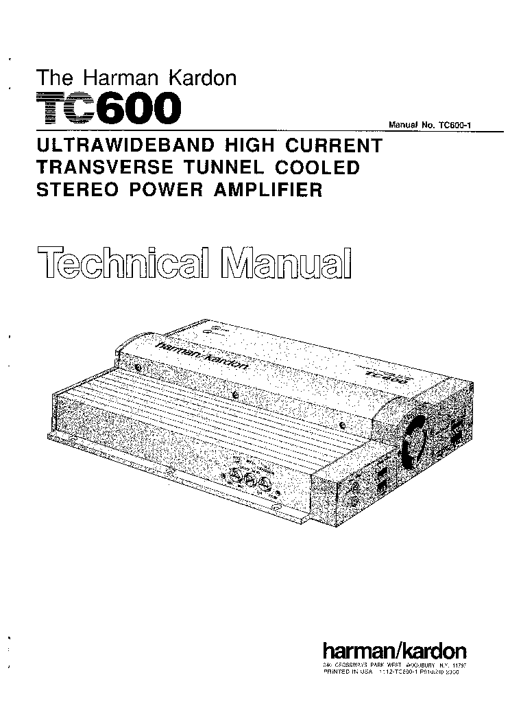 harman kardon 330b service manual