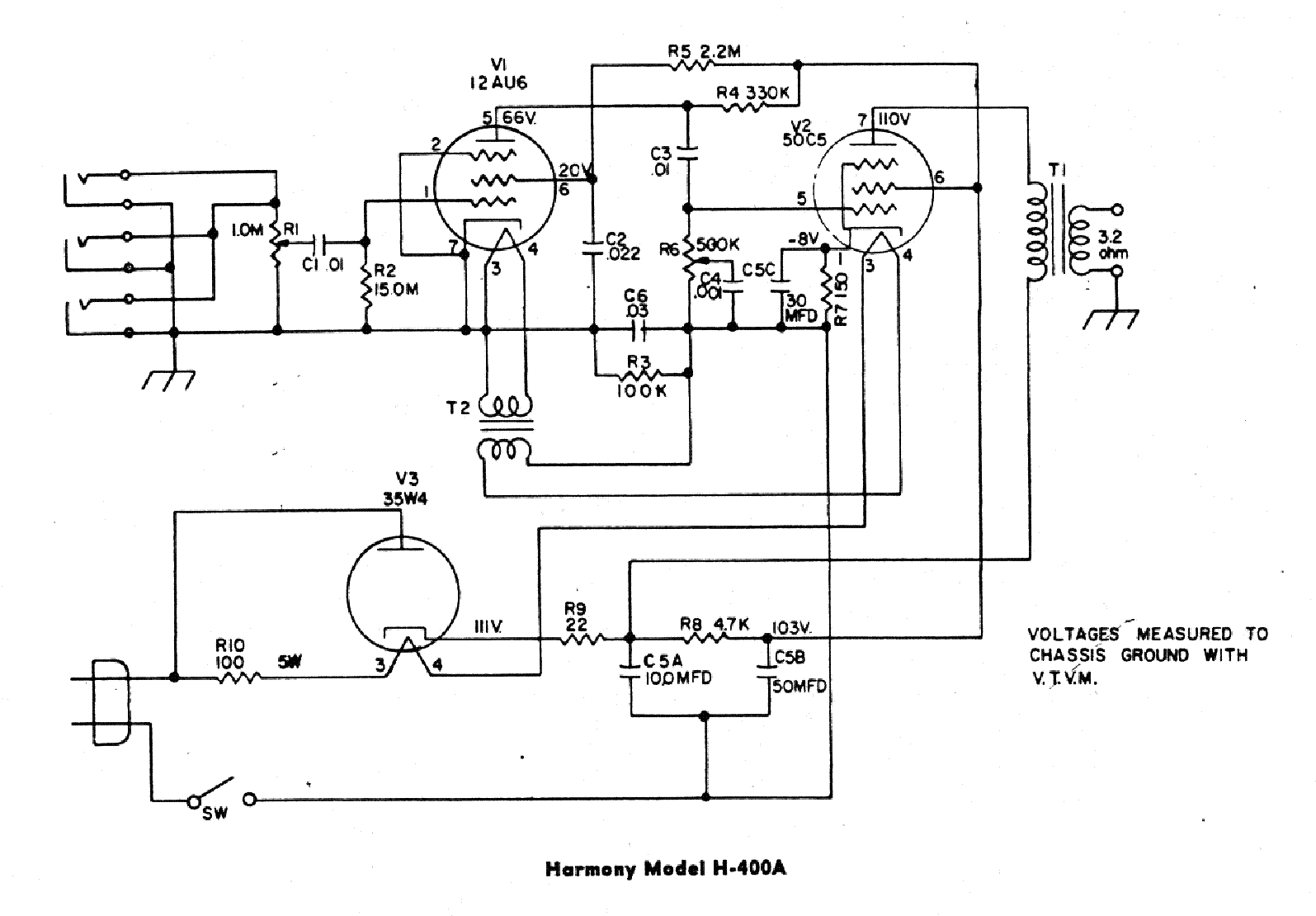 Harmony H306a Schematic Wiring Amp - Auto Electrical Wiring ... on electronic circuit diagrams, led circuit diagrams, switch diagrams, motor diagrams, honda motorcycle repair diagrams, troubleshooting diagrams, transformer diagrams, gmc fuse box diagrams, internet of things diagrams, friendship bracelet diagrams, electrical diagrams, engine diagrams, series and parallel circuits diagrams, pinout diagrams, lighting diagrams, sincgars radio configurations diagrams, hvac diagrams, battery diagrams, smart car diagrams,