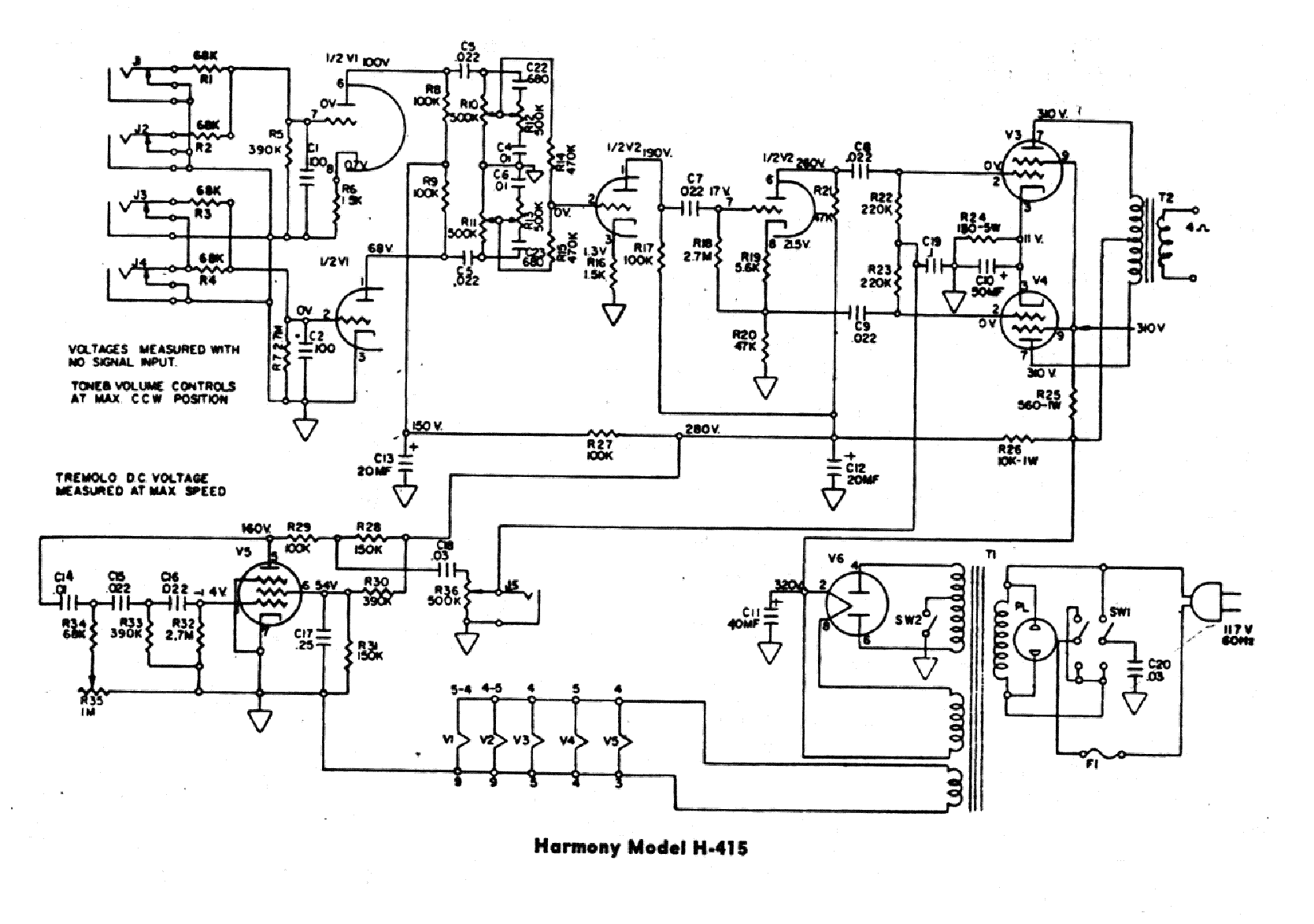problem ? | telecaster guitar forum kustom amp schematic #2