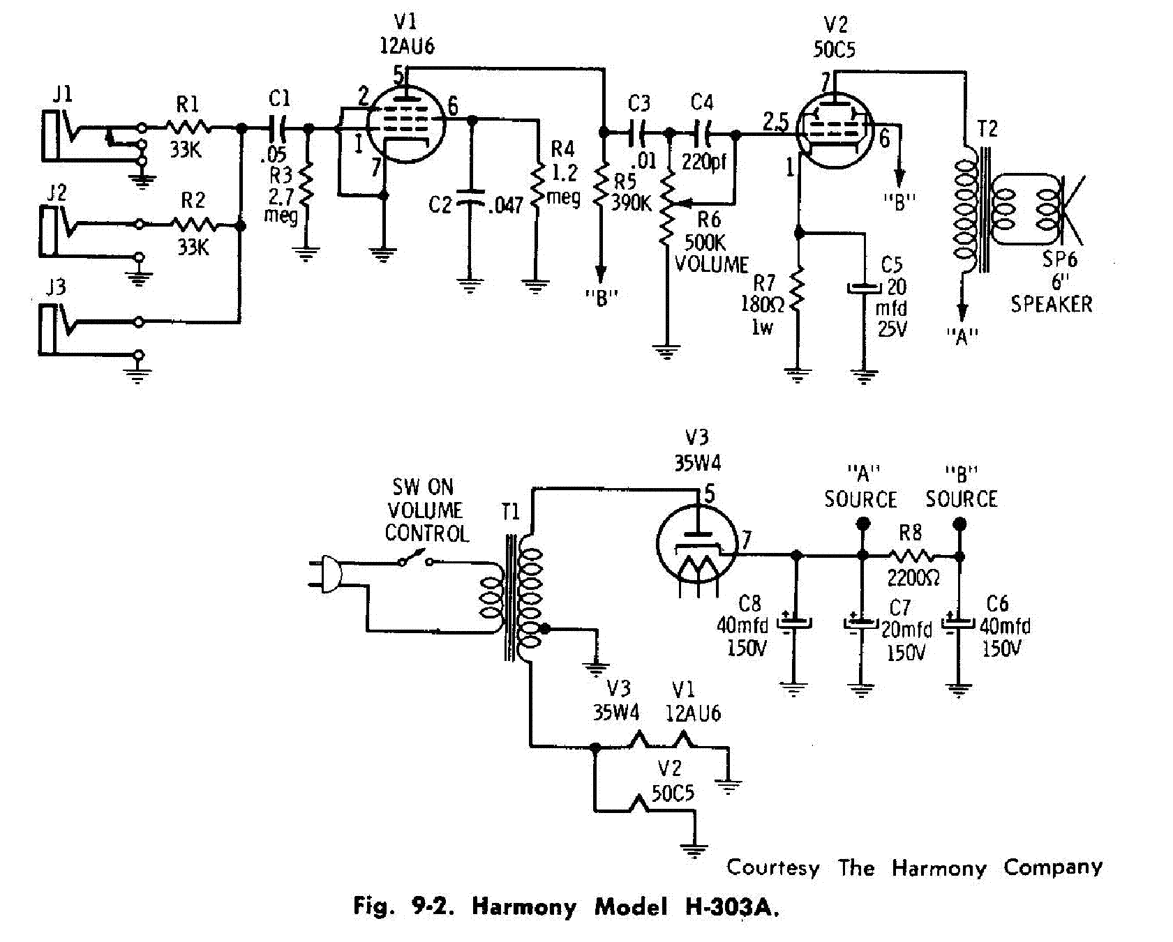 Riaa Pre  Schematic in addition Valve further 74116 Ecc82 Based Pre  7 as well Princeton Reverb further 40 Yaqin Mc 84l El84 Push Pull Tube  lifier. on 12ax7 amplifier circuit