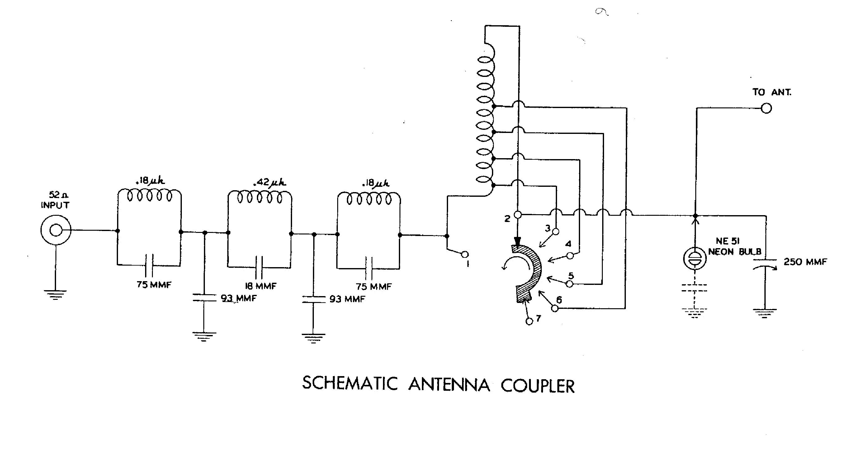 HEATHKIT AC-1 ANTENNE COUPLER ANTENNA CSATOLO SCH service manual (1st page)