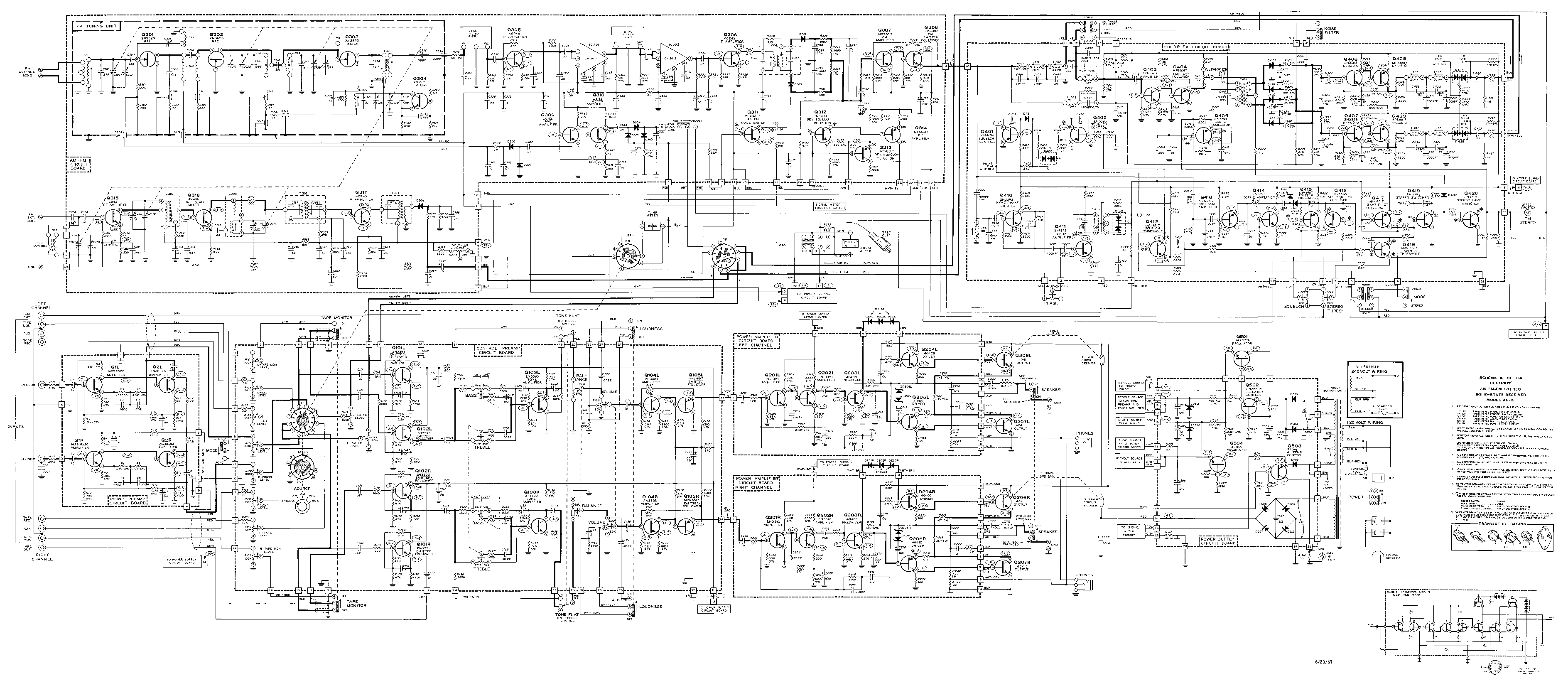 Heathkit ar 15 sch2 service manual download schematics for Arkansas blueprint