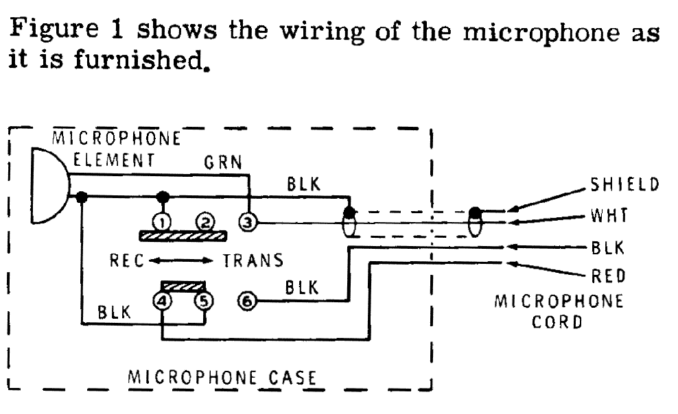 Heathkit Microphone Wiring on cb radio manuals pdf