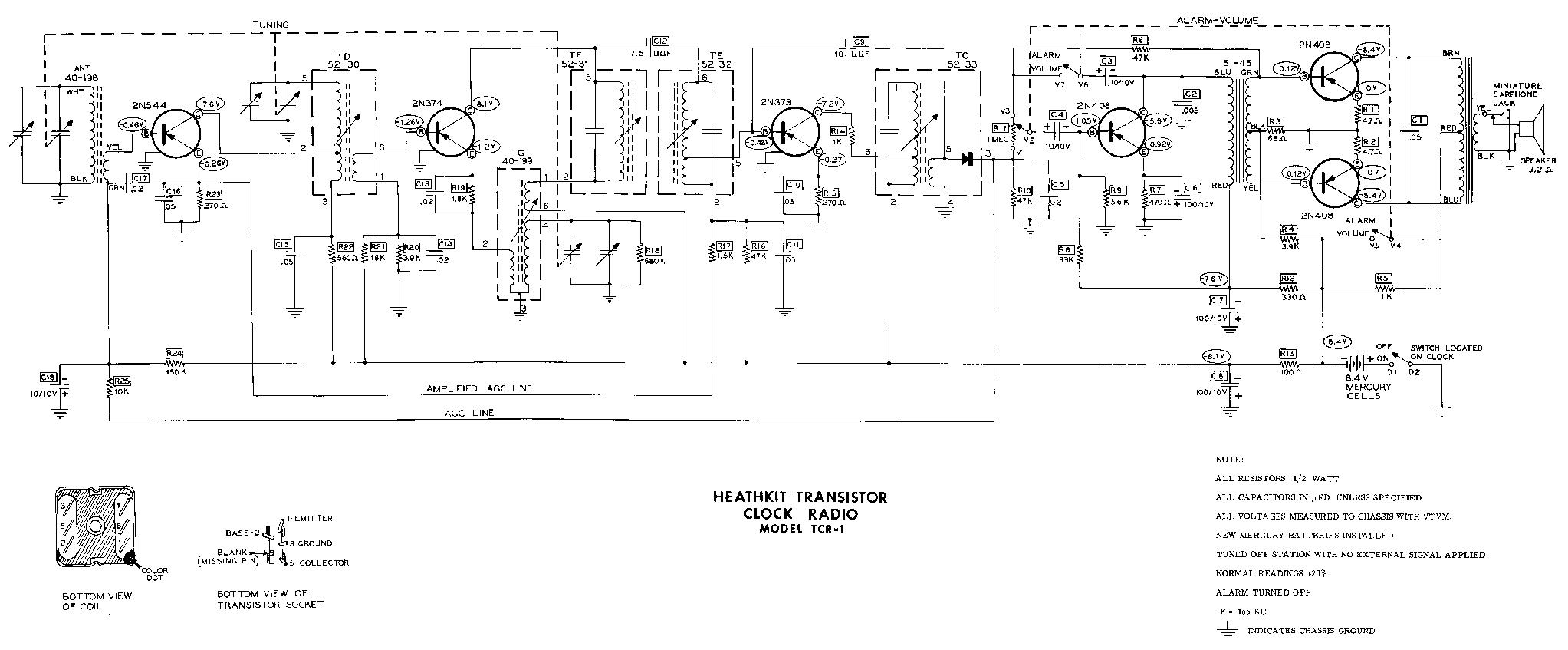 HEATHKIT HA-10 WARRIOR AMP SCH Service Manual download, schematics