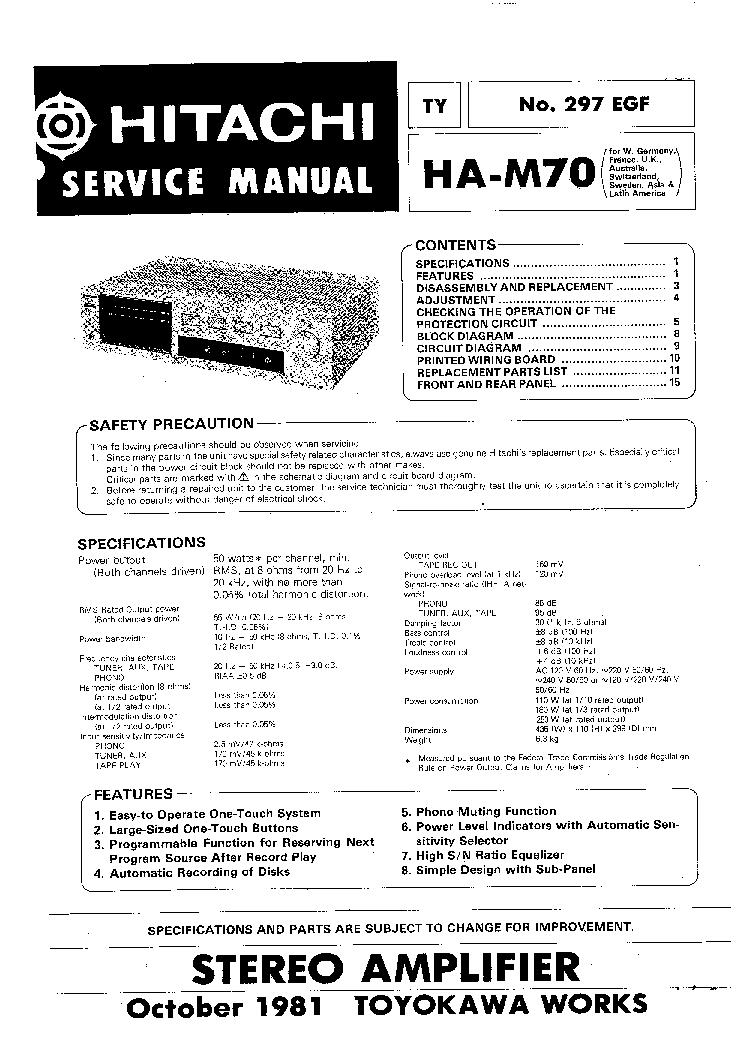 Hitachi Sr 2004 Service Manual Blogscleaning border=