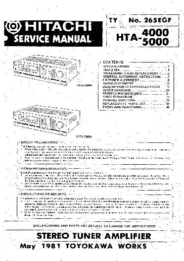 hitachi hta 4000 5000 service manual download schematics eeprom rh elektrotanya com Simple Wiring Diagrams Wiring Diagram Symbols