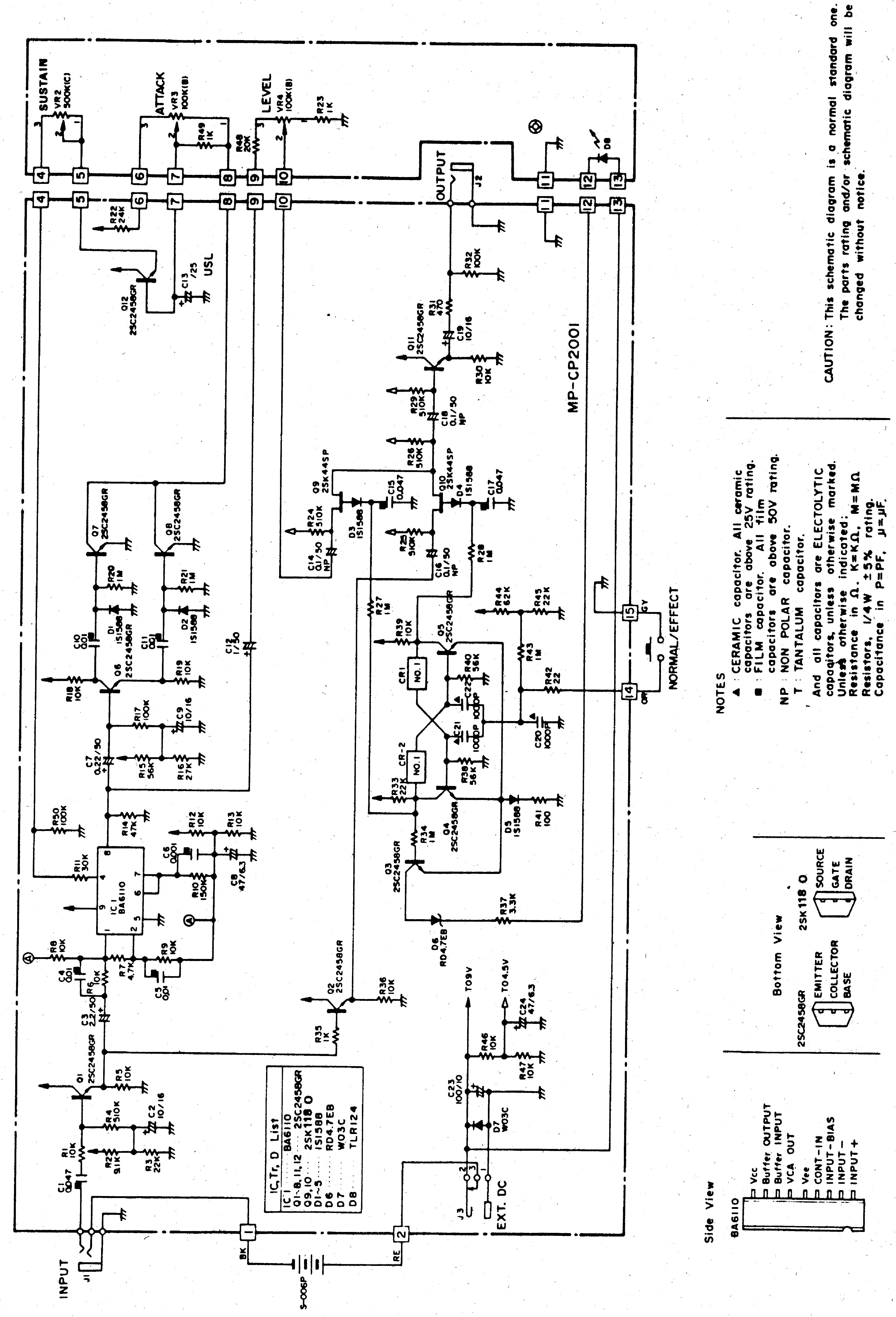 Ibanez cf7 service manual download, schematics, eeprom, repair.