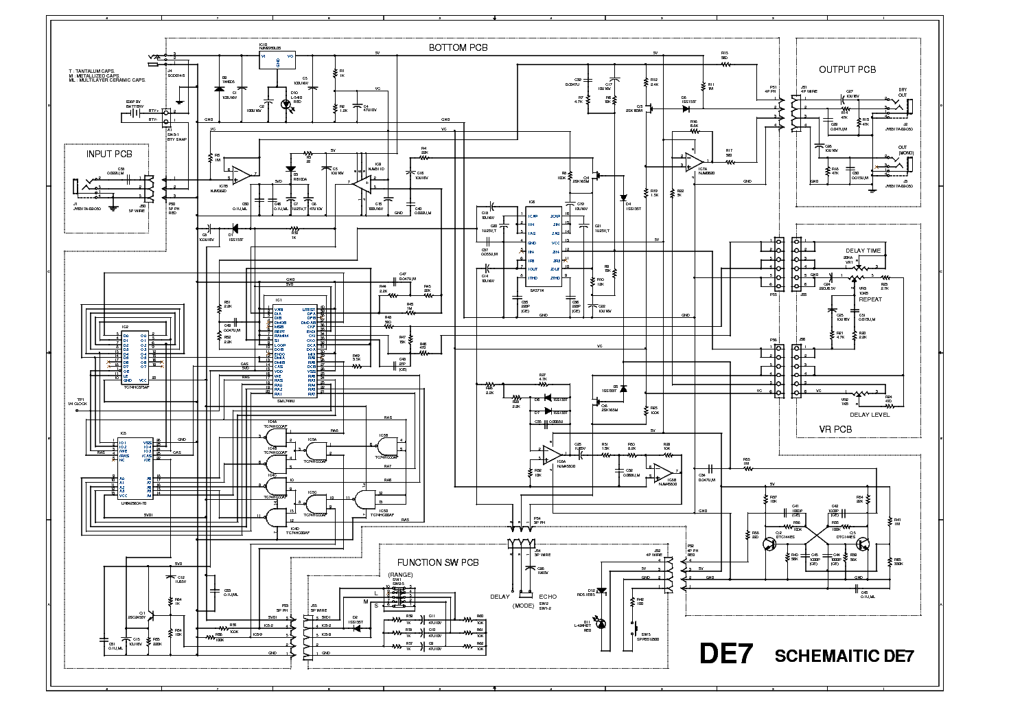 ibanez de7 service manual download  schematics  eeprom  repair info for electronics experts