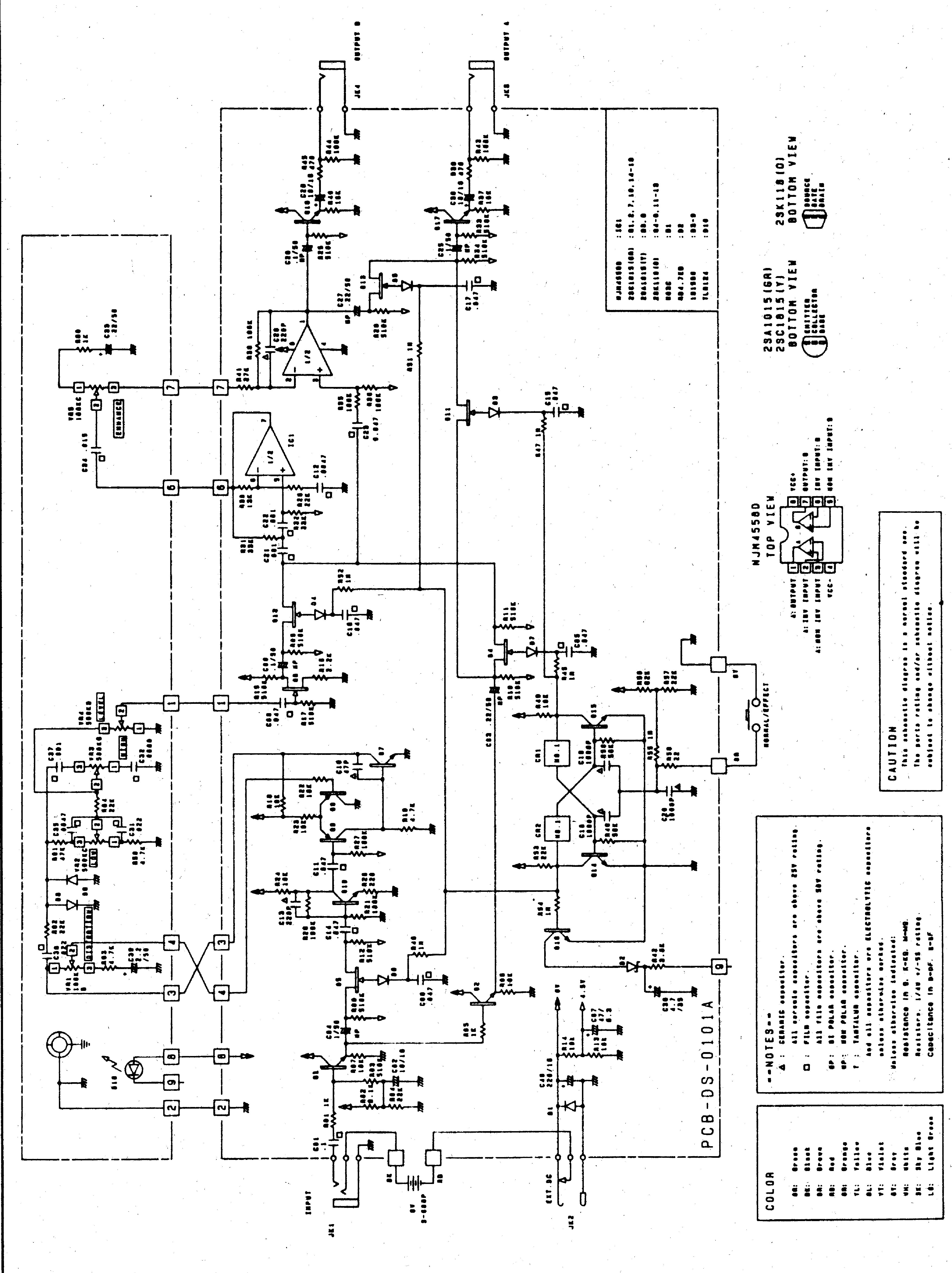 ibanez ts9 schematic