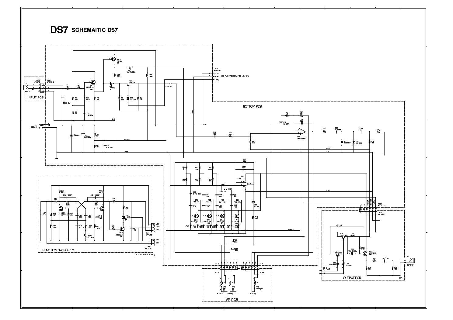 IBANEZ DS7 service manual (1st page)